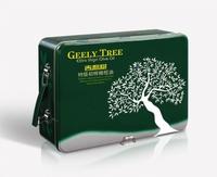 吉利树橄榄油750ML*2*6绿色铁礼盒包装