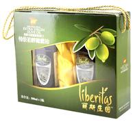 丽斯庄园特级初榨橄榄油精装版礼盒500ml*2,西班牙原装原瓶进口,上海大量现货