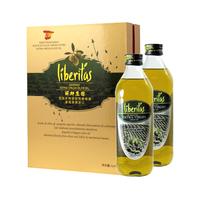 丽斯庄园特级初榨橄榄油高档礼盒装750ml*2,西班牙原装原瓶进口,上海大量现货