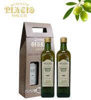 帕格特级初榨橄榄油精装礼盒750ml×2
