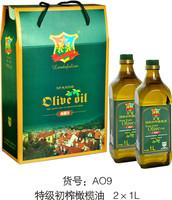 特级初榨橄榄油2*1L