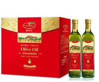 橄倍尔特级初榨橄榄油尊享礼盒750ml*2