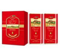 橄倍尔特级初榨橄榄油满堂红礼盒1L 6支装