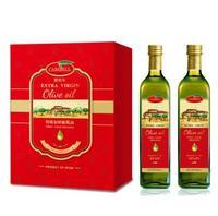 橄倍尔特级初榨橄榄油典雅礼盒750ml*2