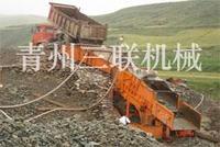 旱地淘金机淘金船筛沙淘金设备淘金机采金设备三联采金工艺