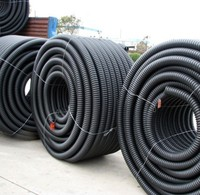 PE碳素管市政电力专用PE单壁螺旋管