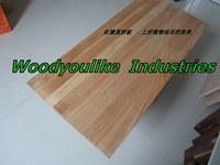 供应红橡木直拼板横拼板台面板 桌面板 装饰板 背景墙 隔板 衣柜板 桌面板 工作台 吧台