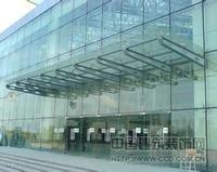深圳钢结构玻璃雨篷,钢结构雨蓬,钢结构雨棚工程设计定制安装中
