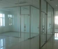 深圳玻璃房 ,深圳玻璃墙,深圳吊轨移动玻璃门,办公室隔断制作