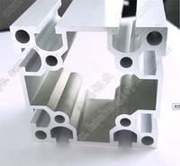 60X60工业铝材流水线货架设备机架铝型材可开模定制