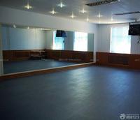 北京舞蹈室玻璃镜子安装