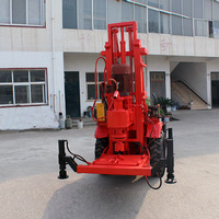 BK-正循环拖拉机液压钻机干钻打井机
