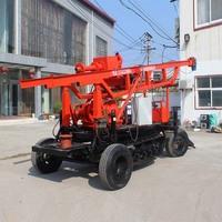 BK-耐用动力头钻机车载钻机