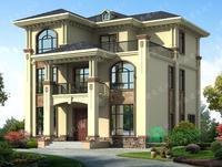 小户型爆款三层欧式别墅设计图,既美观又实用,自建房首选