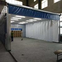 大型伸缩移动式喷漆房定制
