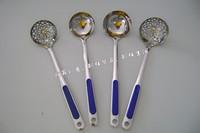 雅昇不锈钢厨房用品 不锈钢厨具 烹饪勺 铲 厨房小工具勺漏(7分壳漏)