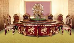 皇家神龙电动餐桌