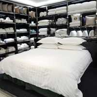 涤棉三/四件套 酒店布草宾馆客房床上用品四件套 可定制酒店布