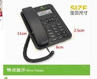 直销诺巴玛 欧尚固话家用办公x3有绳固定电话机座机