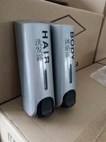 E002SC 银色双头皂液器