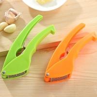 创意双色压蒜器 蒜泥器 剥蒜器 夹蒜器 厨房小工具