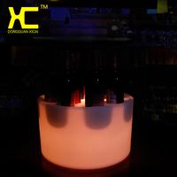 酒吧LED发光酒座托盘七彩遥控拖酒盘红酒洋酒托盘12孔7孔