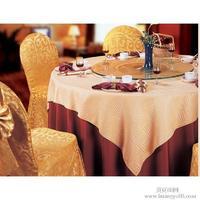 酒店餐厅布草台布椅套