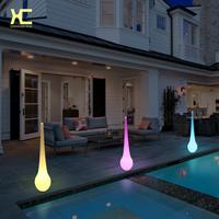 酒店走廊过道落地装饰灯 户外防雨水滴形灯 led发光装饰灯