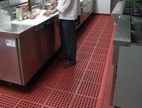 酒店厨房防滑地垫,酒店抗疲劳地垫,橡胶地垫